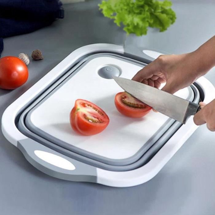 二合一多功能砧板洗菜籃