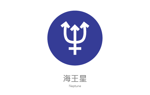 海王星符號